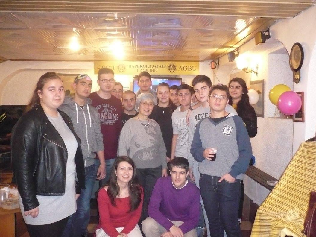 Младежки клуб AGBU Пловдив Глава (2)